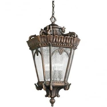 Tournai medium chain lantern - Bronze