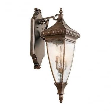 Venetian 2 large wall lantern - Bronze