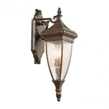 Venetian 2 medium wall lantern - Bronze
