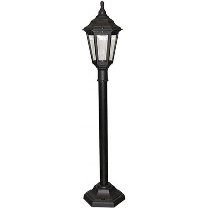 Elstead Lighting Kinsale Pillar Lantern - Black