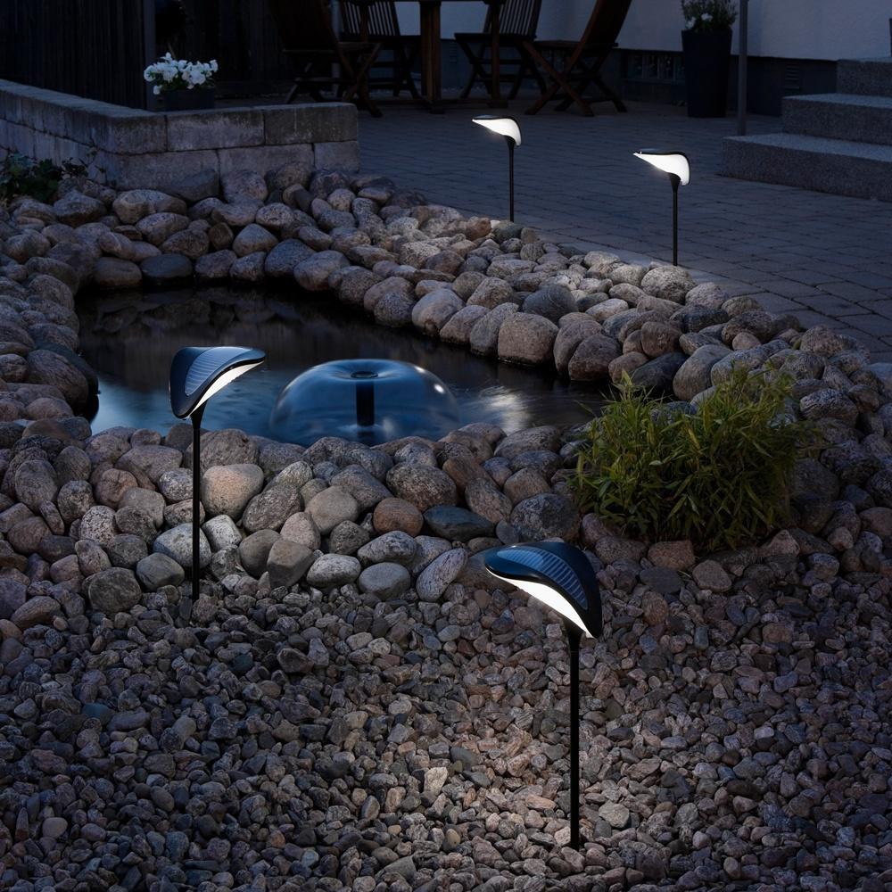 konstsmide garden lighting assisi ray solar light 7106 000 konstsmide garden lighting from. Black Bedroom Furniture Sets. Home Design Ideas