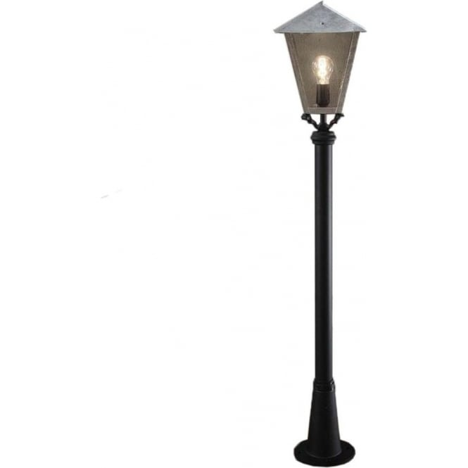 Konstsmide Garden Lighting Benu inc Persius pole - galvanised 436-320