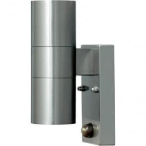Modena wall lamp double PIR - stainless steel 7542-000