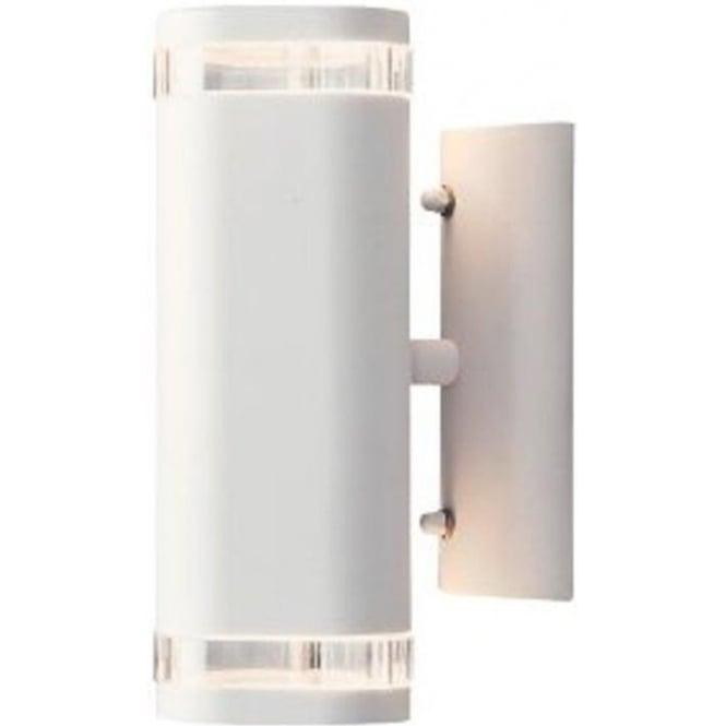 Konstsmide Garden Lighting Modena wall lamp double - white 7512-250
