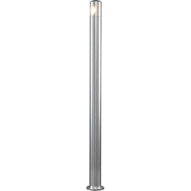 Konstsmide Garden Lighting Monza bollard high power LED - aluminium 7923-310