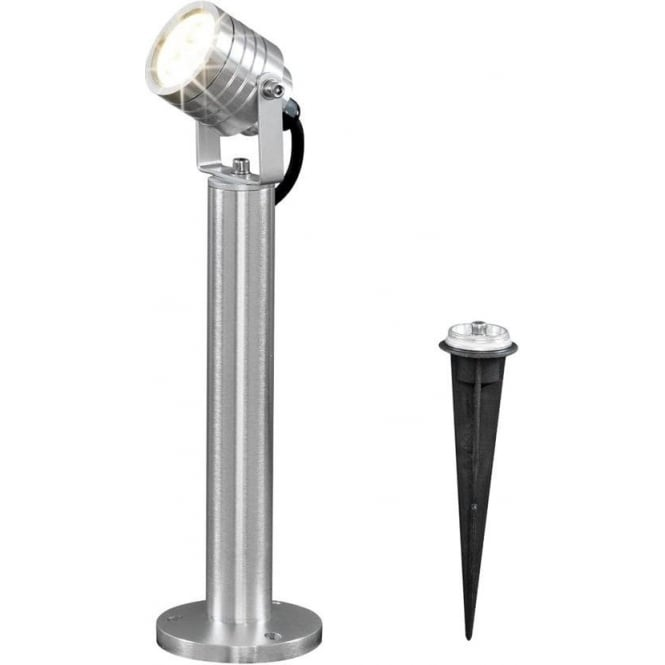 Konstsmide Garden Lighting Monza high power LED spot - aluminium 7918-310
