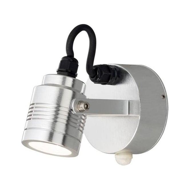 Konstsmide Garden Lighting Monza wall lamp high power LED - aluminium 7941-310