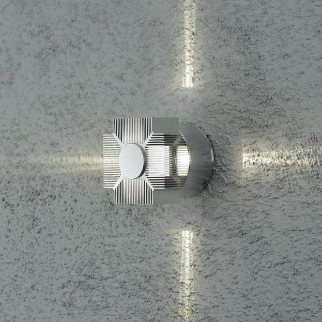 Konstsmide Garden Lighting Monza wall lamp high power LED - aluminium 7943-310