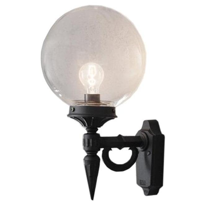 Konstsmide Garden Lighting Orion wall light - black 496-750