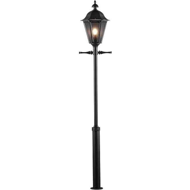 Konstsmide Garden Lighting Pallas inc Taurus pole - black 550-750