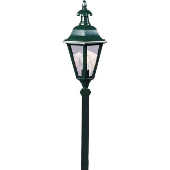Konstsmide Garden Lighting Pallas post light - green 478-600