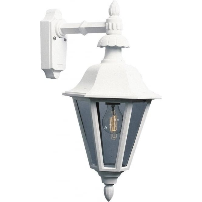 Konstsmide Garden Lighting Pallas wall down light - white 483-250