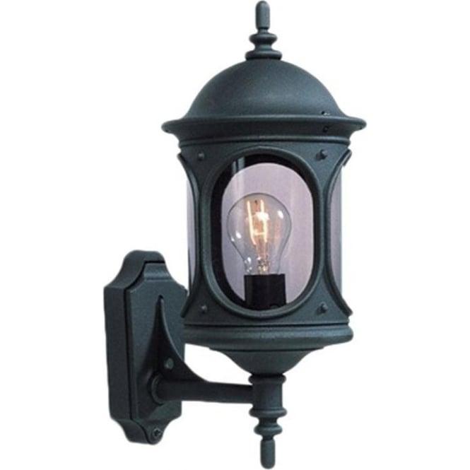 Konstsmide Garden Lighting Rigel wall up light - black 605-750