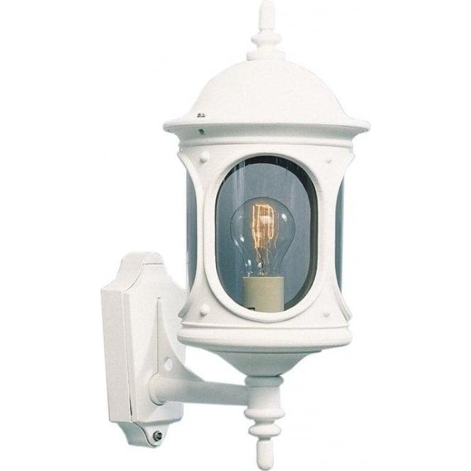 Konstsmide Garden Lighting Rigel wall up light - white 605-250