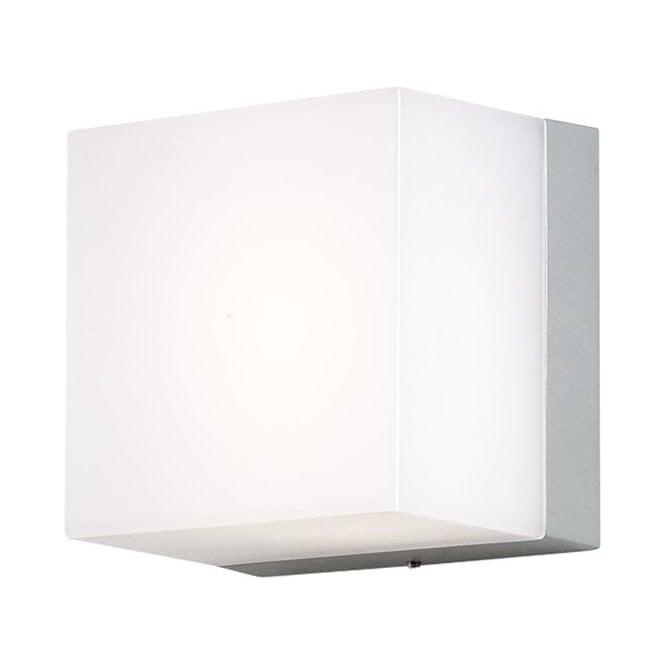 Konstsmide Garden Lighting Sanremo wall lamp  - small - aluminium 7926-312