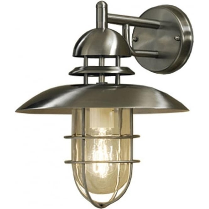 Konstsmide Garden Lighting Sorrento down light - stainless steel 7319-000