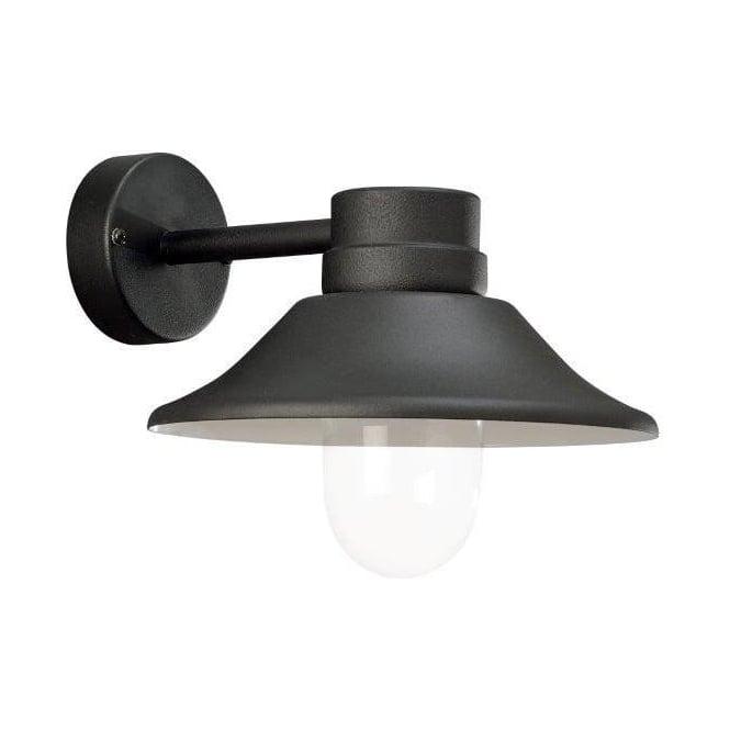 Konstsmide Garden Lighting Vega wall light LED - black 412-750