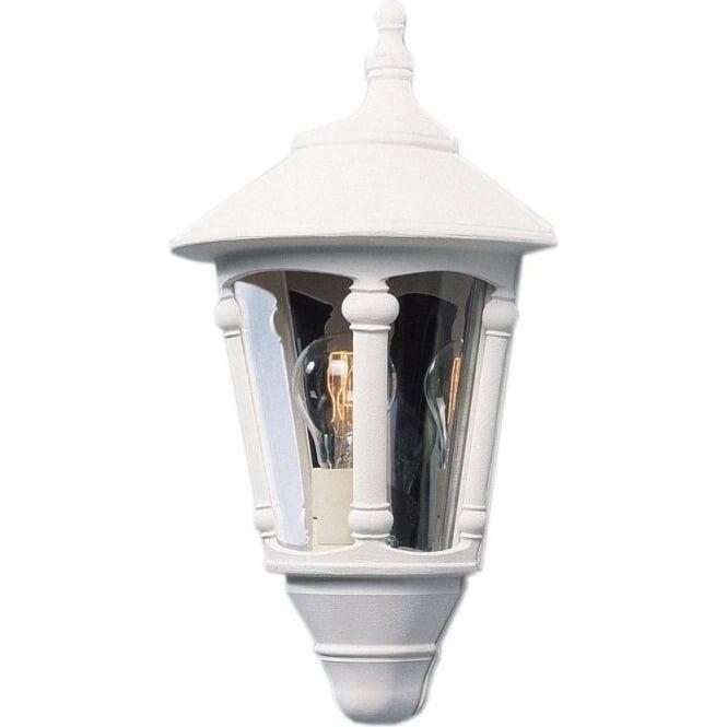 Konstsmide Garden Lighting Virgo flush wall light - white 569-250