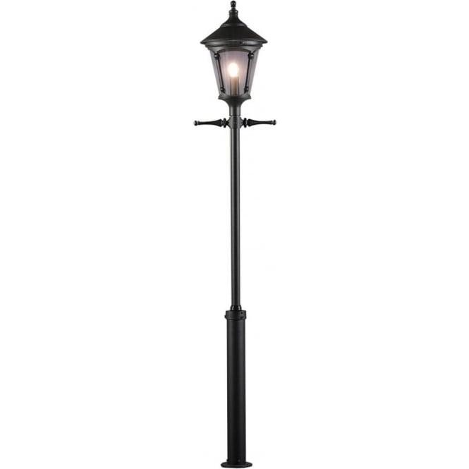 Konstsmide Garden Lighting Virgo inc Taurus pole - black 583-750