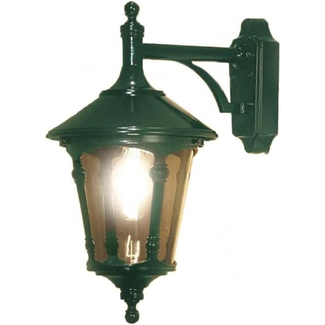 Konstsmide Garden Lighting Virgo wall light - green 568-600