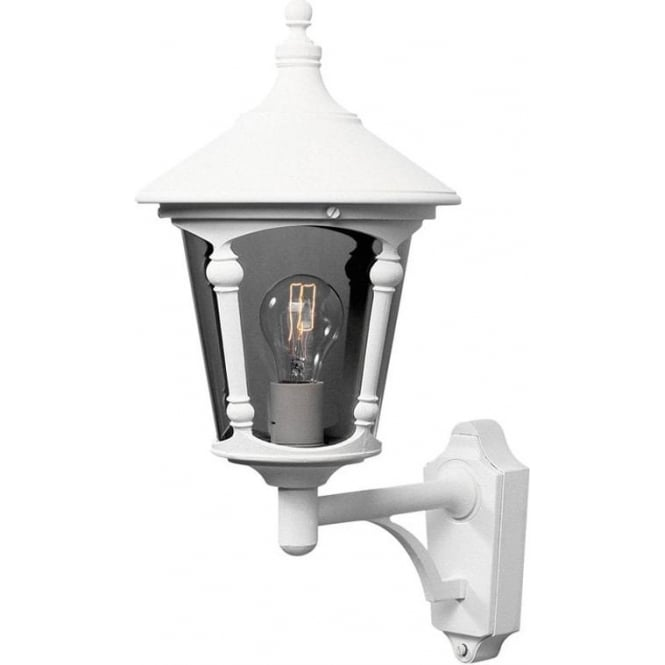 Konstsmide Garden Lighting Virgo wall up light - white 571-250