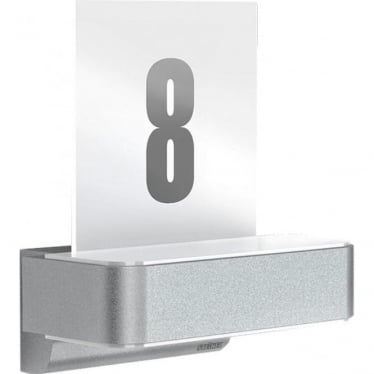 L 820 LED iHF Up and Downlighter with house number - silver