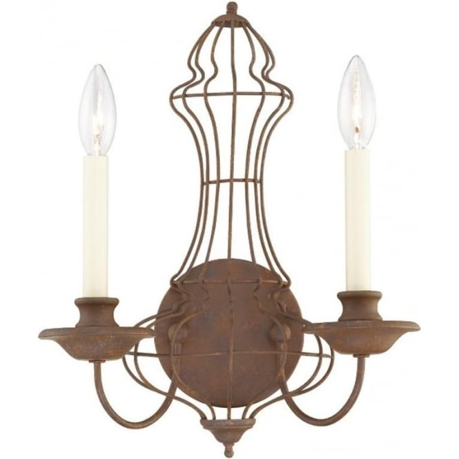 Laila Wall Light Rustic Antique Bronze
