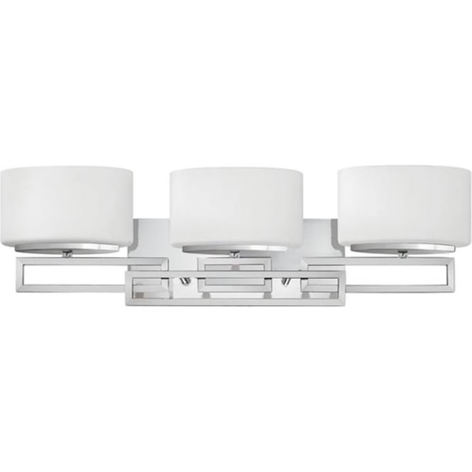 Hinkley Lighting Lanza 3 light Above Mirror Light Polished Chrome