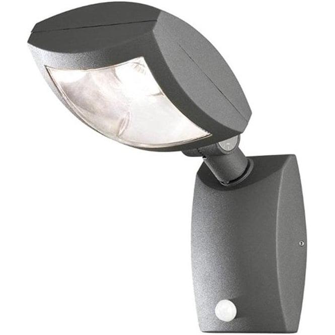 Konstsmide Garden Lighting Latina wall lamp high power LED - anthracite 7938-370