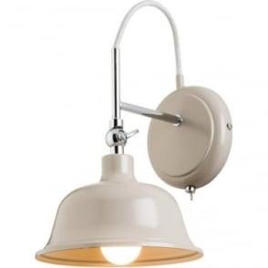 Laughton Single wall light - Slate Grey Finish
