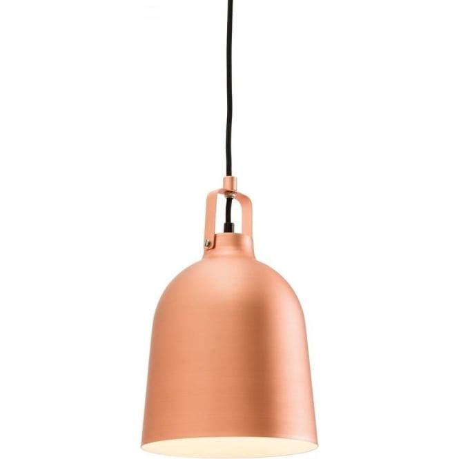 Endon Lighting Lazenby single pendant - Matt copper