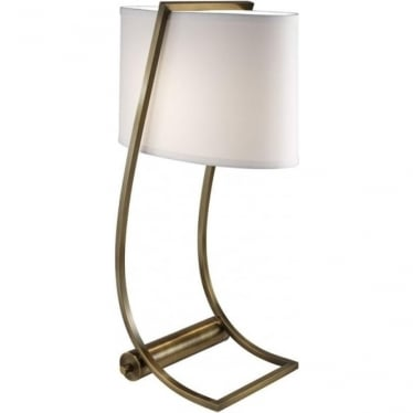 Lex Bali Brass Desk Lamp