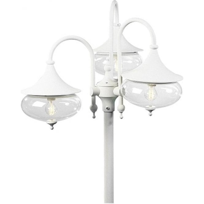 Konstsmide Garden Lighting Libra triple head - white 621-250
