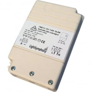 Dimmable LED driver 12V, 19.2W, 1600mA Constant Voltage