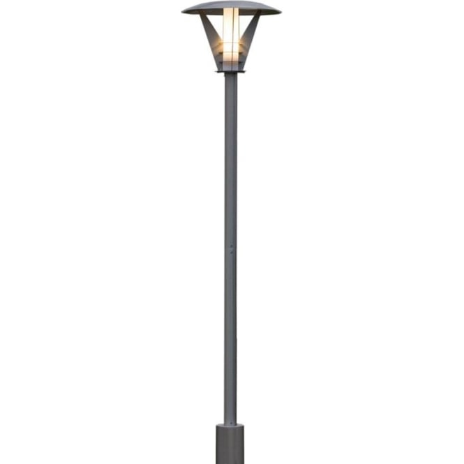 Konstsmide Garden Lighting Livorno post lamp - stainless steel 7345-000