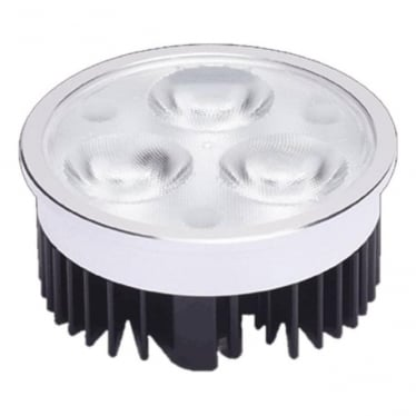 LL030CARGB Colour change LED unit (MR16 retro fit 23mm body) 3w - Aluminium - Low voltage