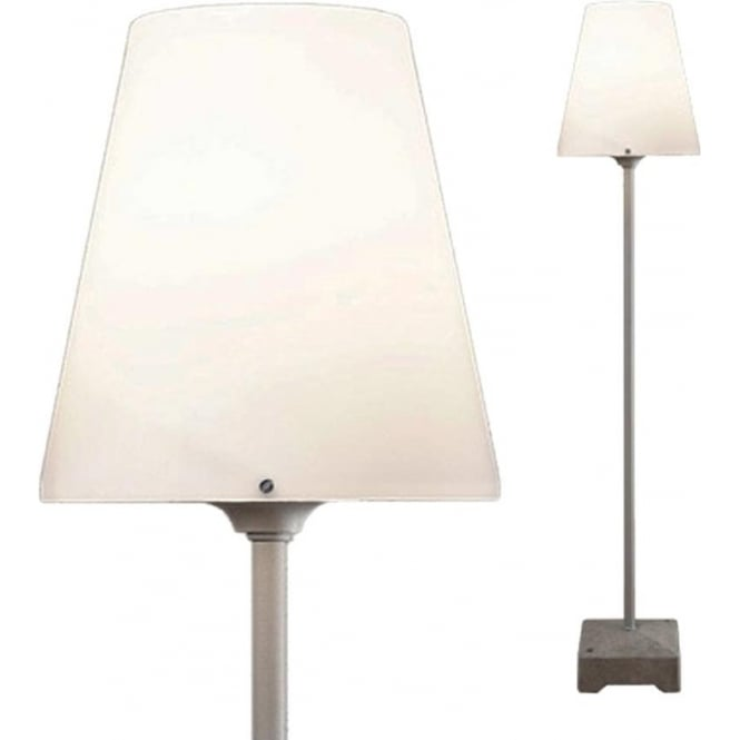 Konstsmide Garden Lighting Lucca light - opal shade - grey 450-300