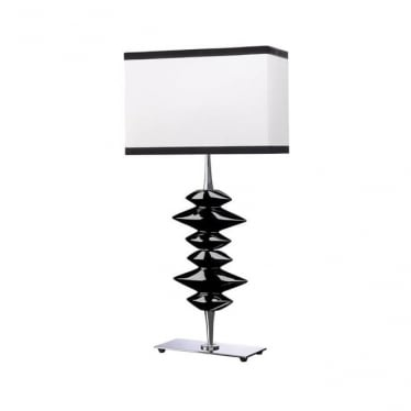 Lui's Collection Alexander Black Table Lamp - Base only