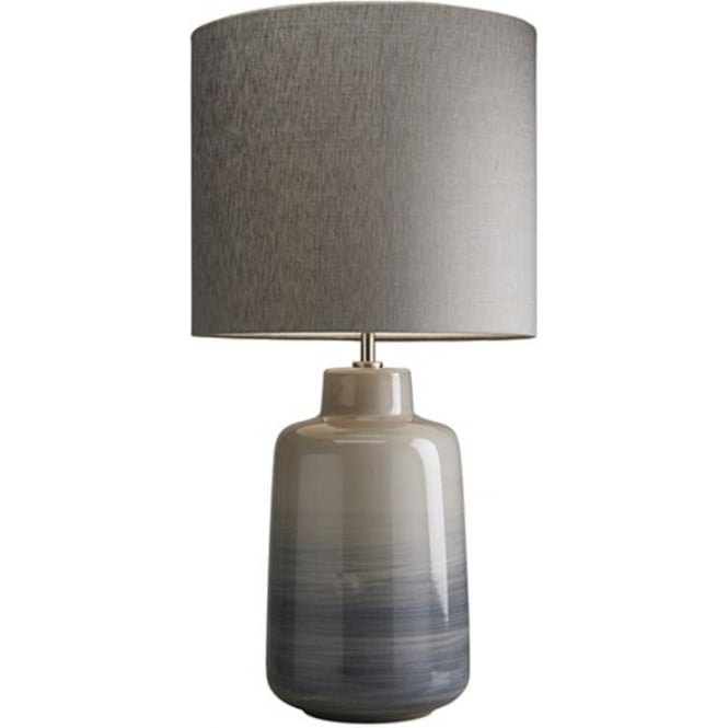 Elstead Lighting Lui's Collection Bacari Small Blue and Grey Lamp - Base only