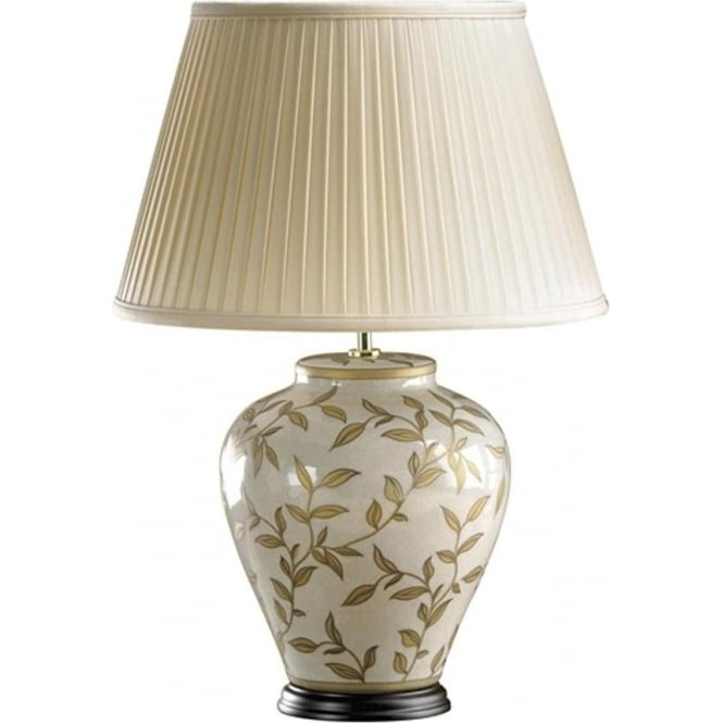 Elstead Lighting Lui's Collection Brown and Gold Leaves Lamp - Base only