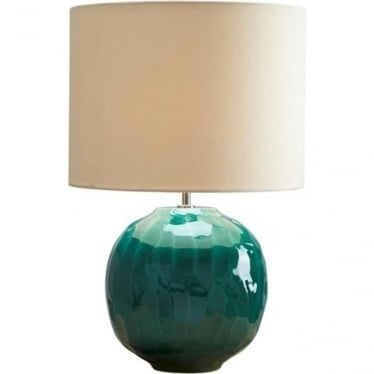 Lui's Collection Green Globe Lamp - Base only