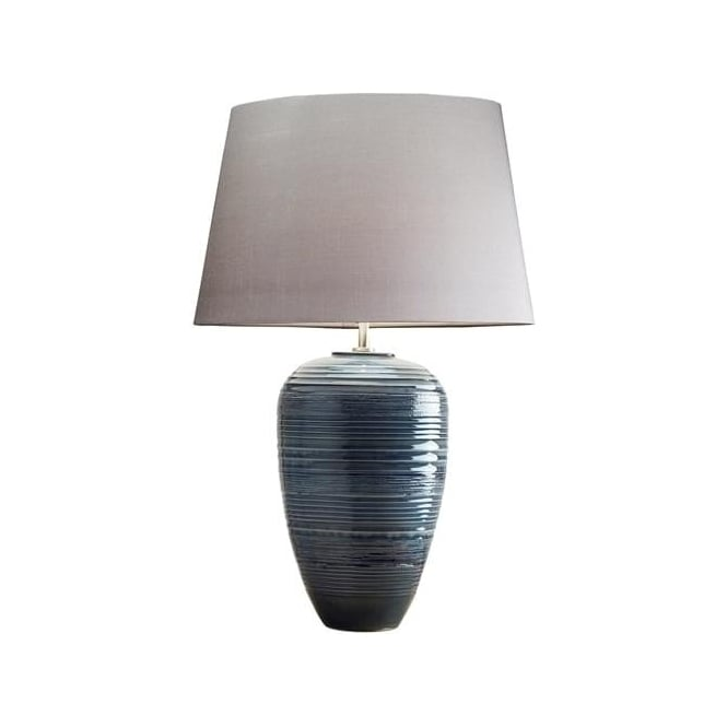 Elstead Lighting Lui's Collection Poseidon Blue Table Lamp - Base only