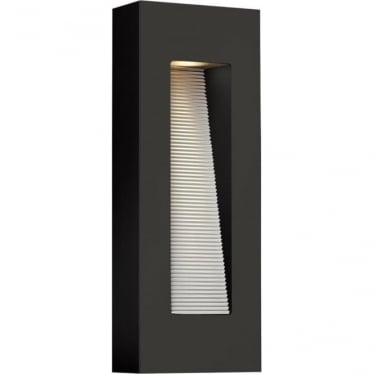 Luna Rectangle Wall Light Satin Black