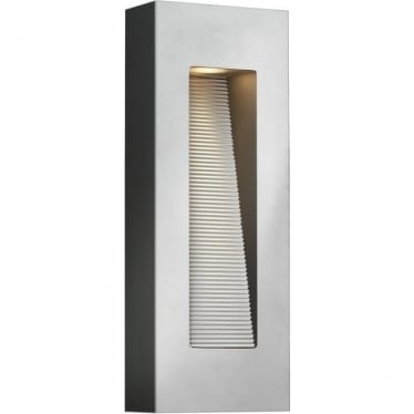 Luna Rectangle Wall Light Titanium