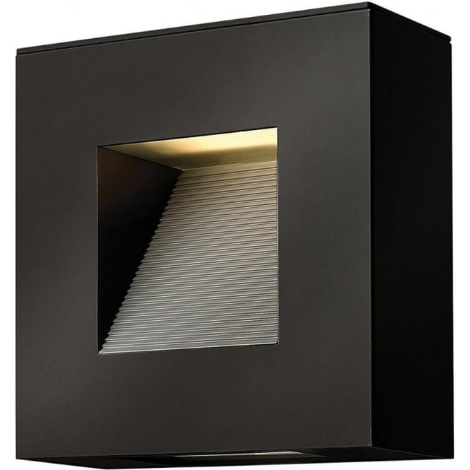 Hinkley Lighting Luna Square Wall Light Satin Black