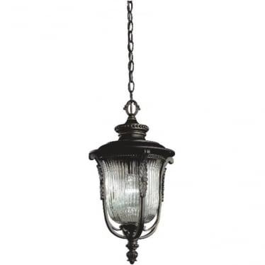 Luverne chain lantern - Bronze