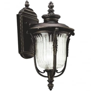 Luverne small wall lantern - Bronze