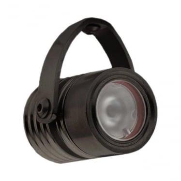 Modux 1 watt - Round with Bracket - Black