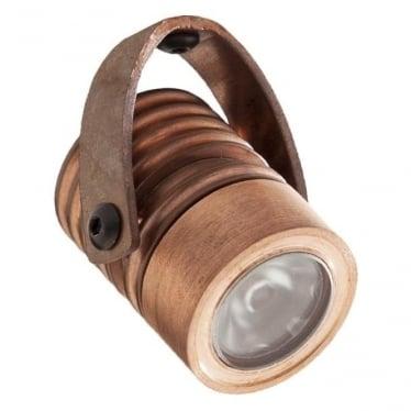 Modux 1 watt - Round with Bracket - Copper
