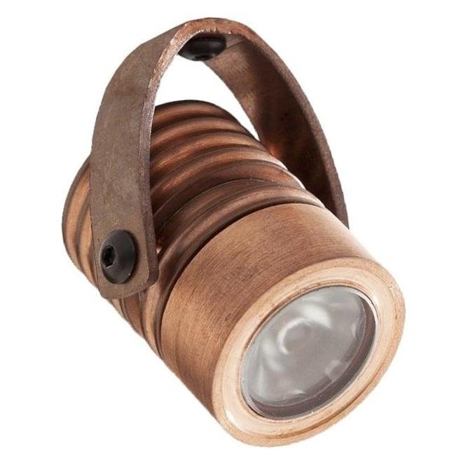 LuxR LED lighting Modux 1 watt with Bracket Mount Copper